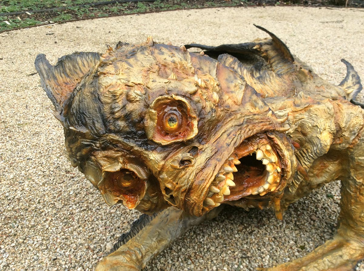 Dried mermaid chris walas creatures for Paper mache pulp